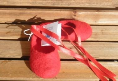 Las zapatillas rojas