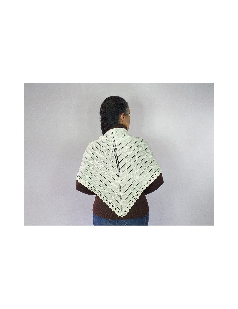 Chal de lana merina