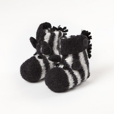 Zapatillas cebra